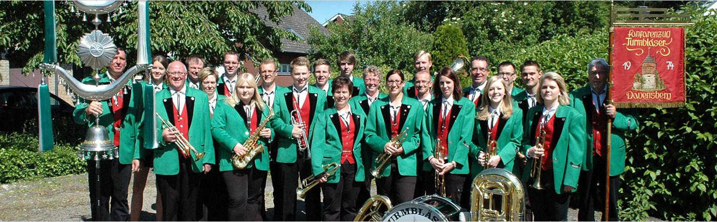 Turmbläser Davensberg Gruppenfoto